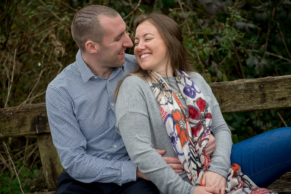 Canal pre-wedding shoot: Katherine & Jonny