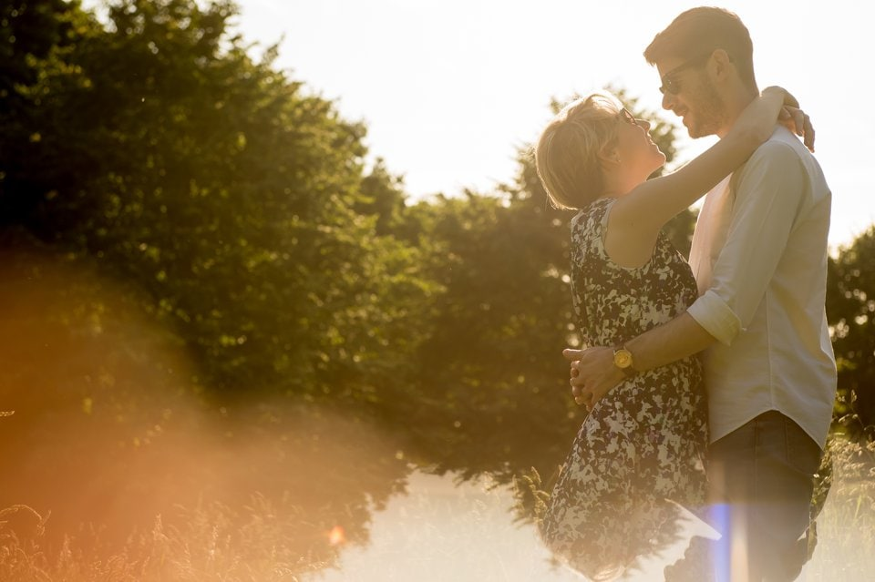 Primrose Hill engagement shoot: Kathryn & Matthew