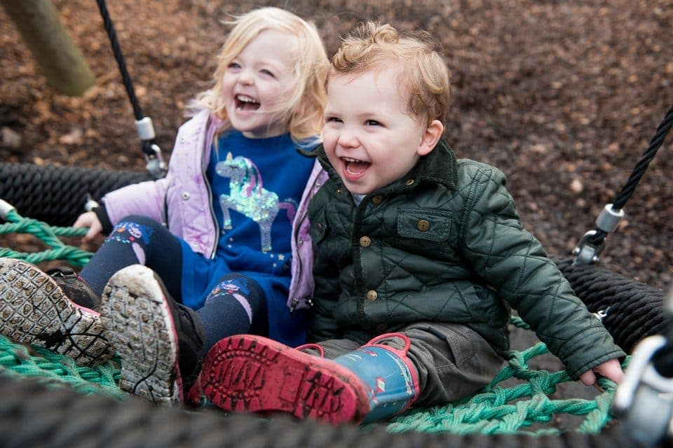 Trent Park family photographer: a wintry family walk
