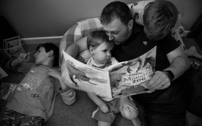 Focusing on family photography