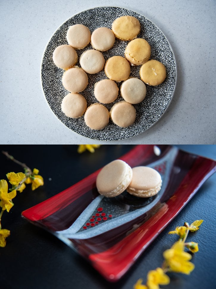product photography macaroons
