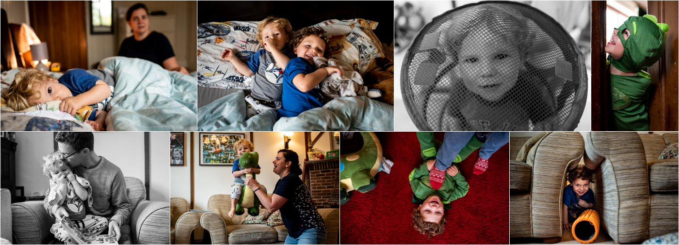 family photos at home in st albans