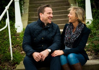 fun filled engagement photos st albans