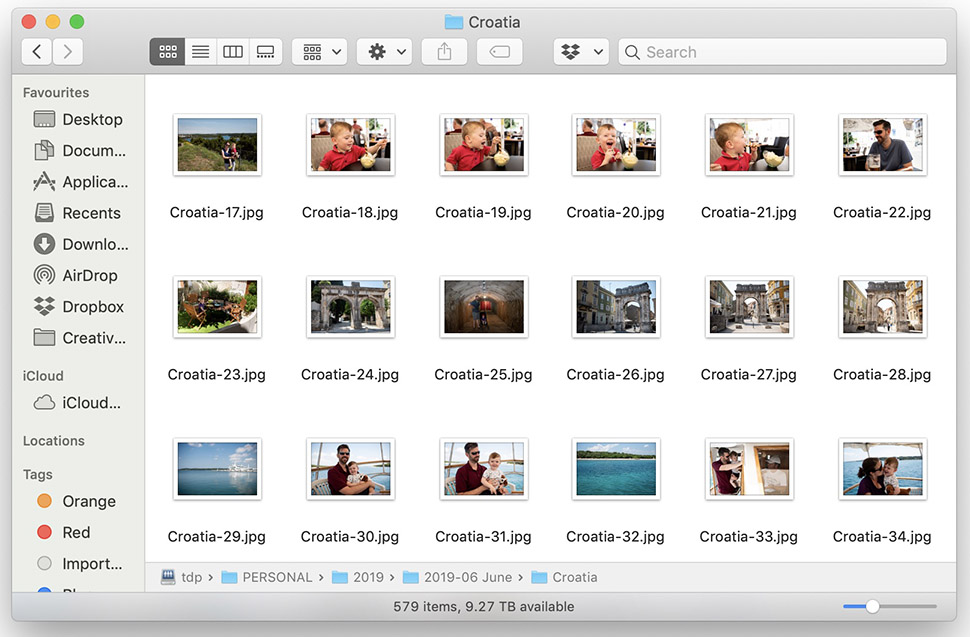 how to store your photos safely