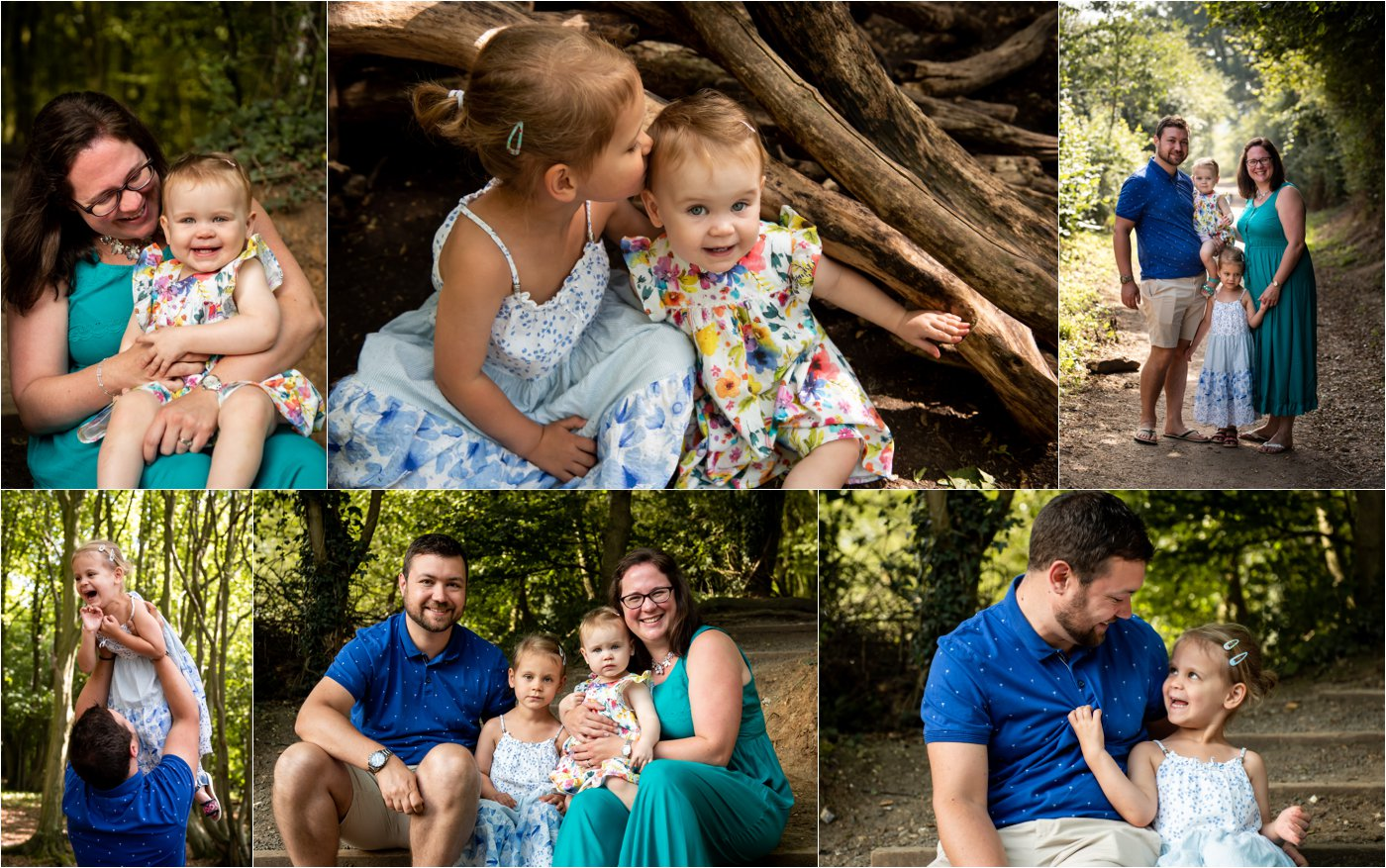 St Albans family photography shoot in summer