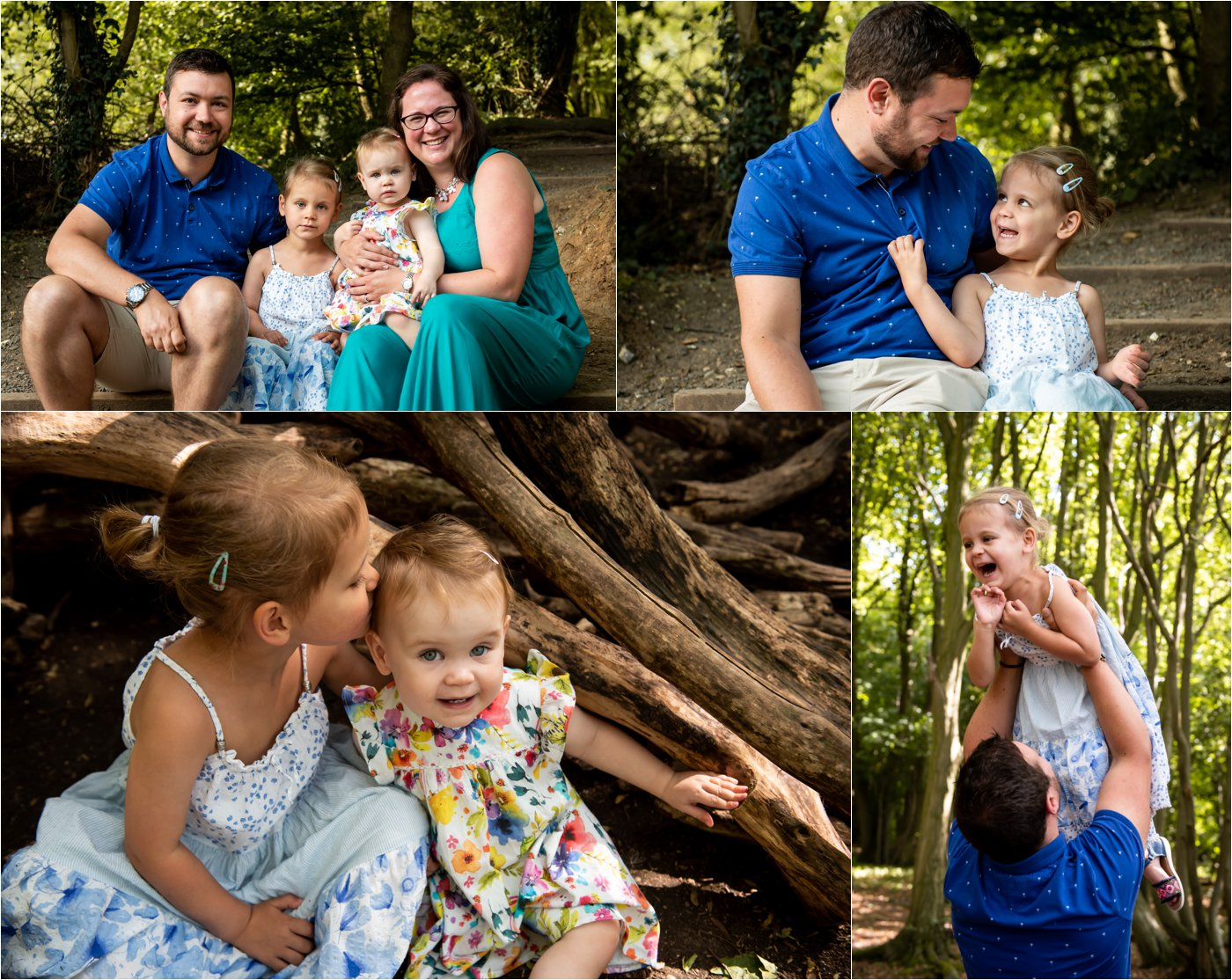 summer family photo shoot in st albans