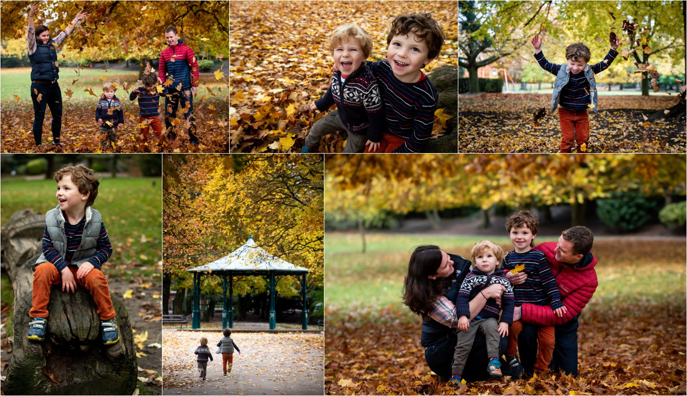 st albans family shoot in autumn