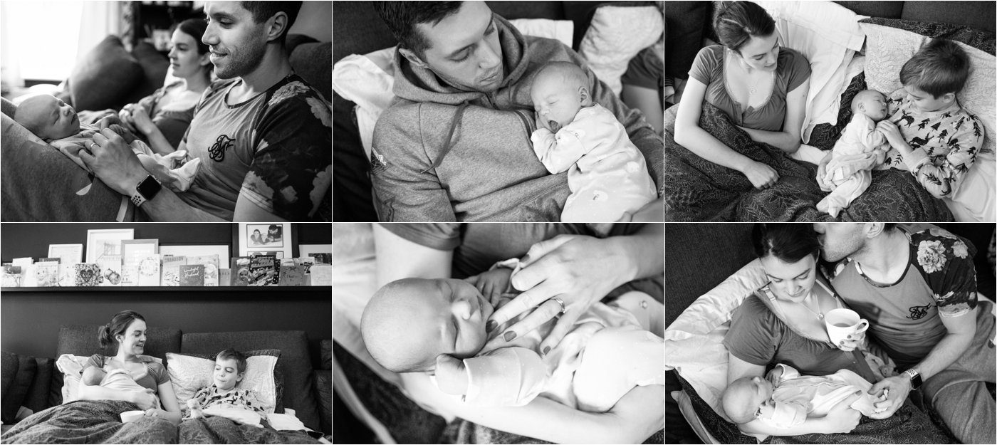 St Albans newborn photography at home