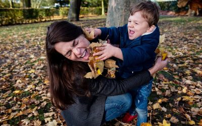 Why you don't have to worry about kids misbehaving during your family photoshoot