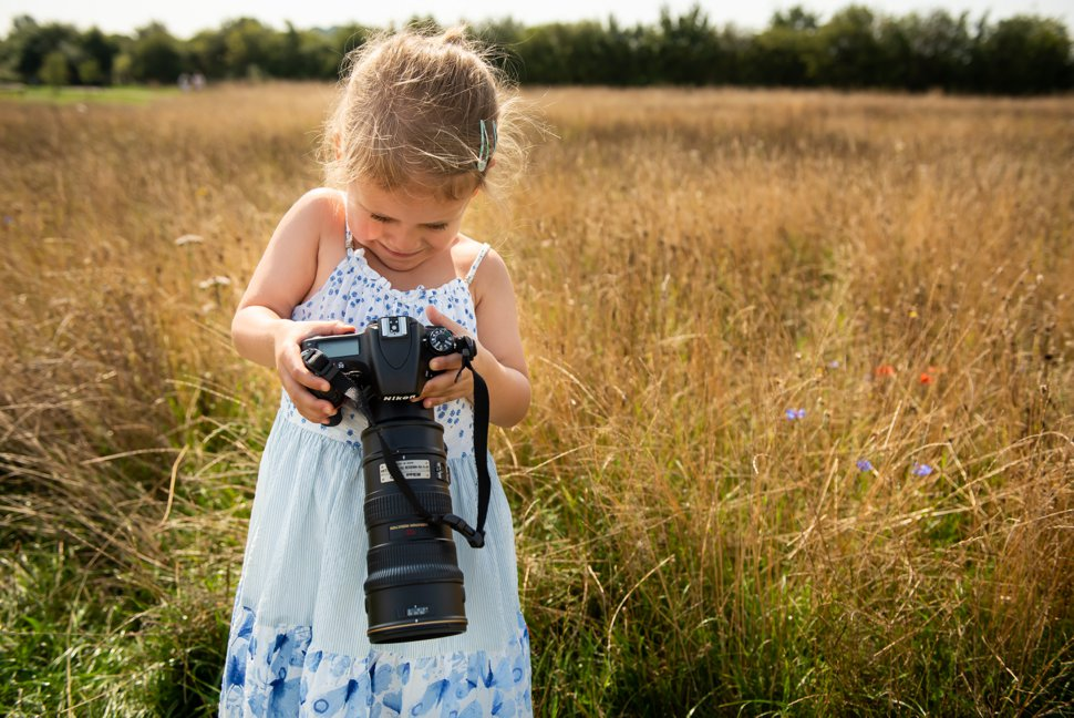Photography ideas for kids this summer