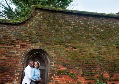 St Albans cathedral engagement photos