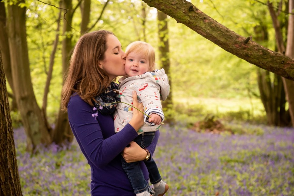 st albans family bluebell photography